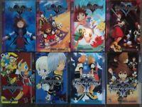Kingdom Hearts 1-4 + Chain of Memories 1+2 + KHII 1+2