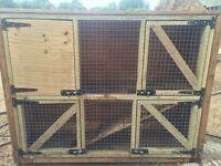 Large quality rabbit hutches