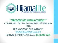FREE HIJAMA CUPPING THERAPY COURSE ON THE 28TH JANUARY