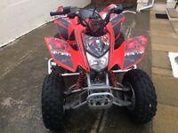 Honda 250 sport track Quad