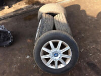 fiat croma alloys and tyres
