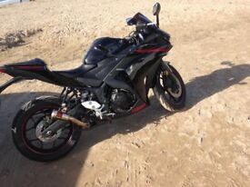 Yamaha R3 /immaculate condition/akrapovic exhaust/65 plate/ABS