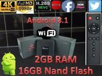 Tanix TX3 Mini TV Box Quad-core Support 4K H.265 16GB ROM WiFi ANDROID MAG SMART TV