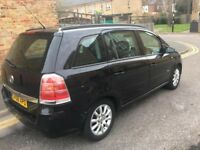 VAUXHALL ZAFIRA 7 SEATER 1.6 PETROL MOT 02 /2018 CAR START AND DRIVE CHEAP ON FUEL AND INSURANCE