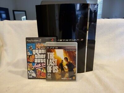 PS3 Sony PlayStation 3 60gb -Backwards Compatible CECHA01 -Read Desc -With Games