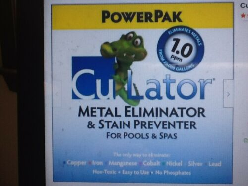 PowerPak CuLator Metal Eliminator and Stain Preventer for Pools and Spas