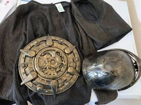 Knight's costume 7-8 yrs £5 collection from Shepshed (can post)