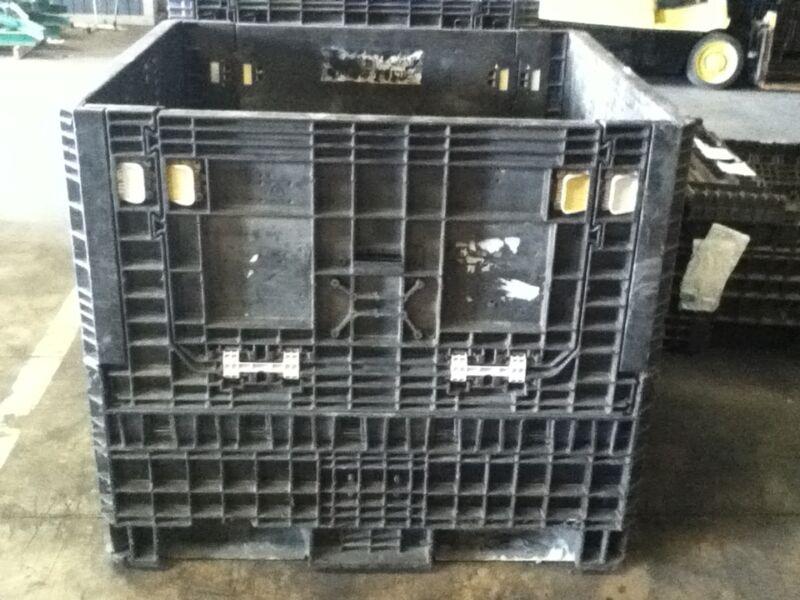 Pallet Box Storage Container Automotive Bin Collapsible Buckhorn Trade Show Arca
