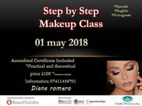 Step by Step Makeup Class