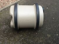 20 litre aqua-roll (with handle) for caravan or camping.