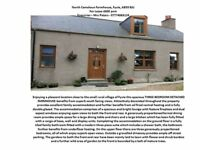 Unfurnished 3 bedroom detached farmhouse for lease. Very well decorated and clean throughout