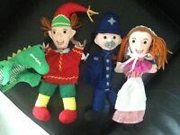 Punch & Judy glove puppets