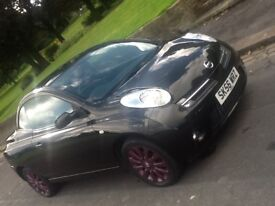 2006 NISSAN MICRA SPORT C+C CONVERTIBLE PINK WITH FSH