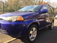 Honda, HR-V, SUV Estate, 2000, Manual, 5 doors. 1.6 Vtec Hrv V-tec 4 wheel drive 4x4 FSH civic