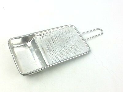 Vintage Japanese Ginger Vegetable Grater Aluminum Oroshiki Made In Japan