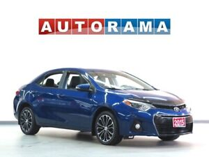 2015 Toyota Corolla S NAVI LEATHER SUNROOF ALLOY RIMS BACK UP CA