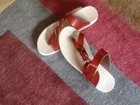 Tan Leather Sandles
