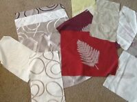 Linen fabric pieces