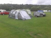 6 berth tunnel tent package