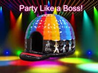 Inflatable Bouncy Castles, Slides + much more. Party & Events equipment & Services!