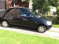 Ford KA 2003 black