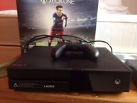 XBox One 500GB FIFA edition - as NEW in box - with Halo 5/Forza 6/Star Wars Battlefront