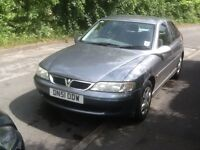 51 Plate Vauxhall Vectra 1.8 with MOT till Jan 18 with 67k genuine miles