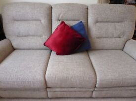 Eastbourne electric reclining 3 seater Sofa