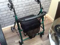 Brand new rollator