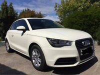 2013 White Audi A1 TDI SE