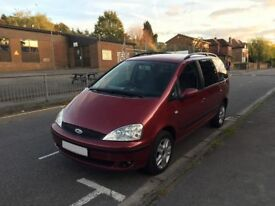 2002 Reg Ford Galaxy Ghia 1.9 TDI 6 Speed Manual - mpv sharan alhambra zafira -