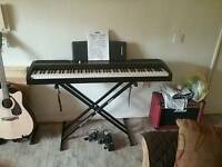 Korg SP-170S digital stage piano + stand + stool + sustain pedal + carry bag