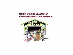 GARAGE SALE  23/10/16   AT   2/97 LORD HOWE DVE, HINCHINBROOK. Hinchinbrook Liverpool Area Preview