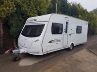 2012 Lunar Clubman SB 4 Caravan FIXED SINGLE BEDS, MOTOR MOVER, BARGAIN !! January Sale