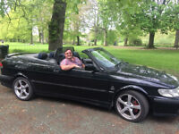 SAAB 93 CONVERTIBLE 2001 DESIGN EDITION RARE ONLY 200 EVER MADE