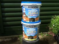 RONSEAL WEATHERPROOF SHED TREATMENT