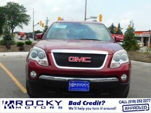 2010 GMC Acadia - BAD CREDIT APPROVALS