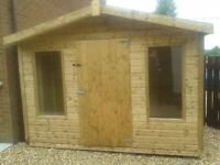 AUGUST SHED SALE NOW ON- FREE DELIVERY AND FITTING ON ALL SHEDS PLAYHOUSE SUMMERHOUSE BOUCHER RD