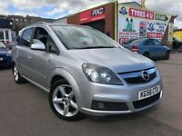 **3 MONTHS WARRANTY** VAUXHALL ZAFIRA 1,8 1.8 SRi XP (2006) - 7 SEATER - NEW MOT - HPI CLEAR!