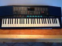 Yamaha keyboard. Battery or power.