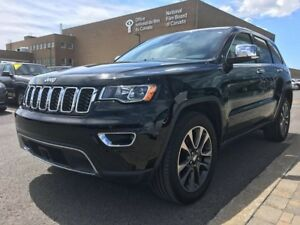 2018 Jeep GRAND CHEROKEE LIMITED 20' MAGS ECRAN 8,4, TECH PACK