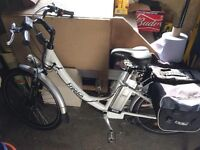 2 Electric bikes for sale