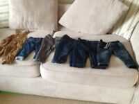 Bundle 9-12 month boys jeans.BARGAIN.