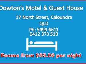 Dowton's Motel & Guest House Golden Beach Caloundra Area Preview