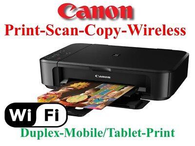 New Canon Pixma Mg3620 3520 All In One Printer Wireless Duplex Print Back School