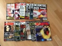Twelve encounters magazines from 1995 to 1996