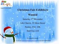 Christmas Fayre, exhibitors wanted