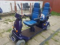 2 seater mobility scooter
