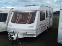 2002 sterling cruach torin 5 berth with double DINNETTE fitted mover & awning
