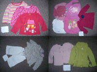 Massive bundle job lot of 48 Summer clothes for girl 12-18mths/ 12-18 mths.
